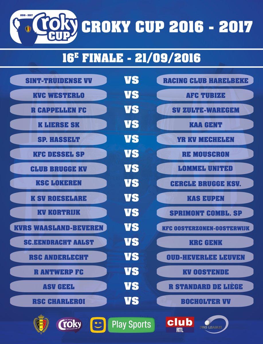 Croky Cup 16eme 2016